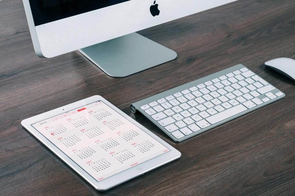 photo - mac and keyboard
